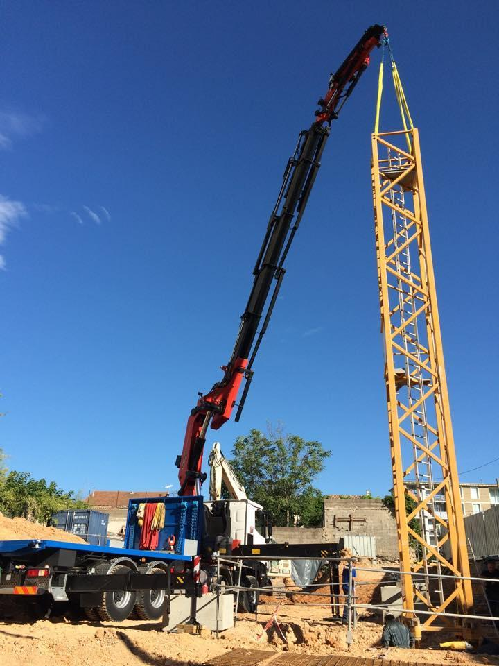 Camion grue n mes montpellier b ziers mediterranee - Location camion nimes ...